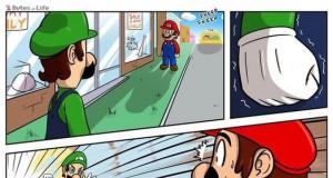Luigi to dopiero musi mieć kompleksy, zawsze przegrywa