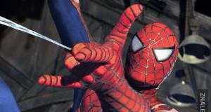 Spiderman robi niezły syf w mieście!
