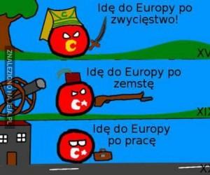 Idę do Europy!
