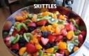 Skittles vs owoce
