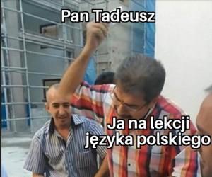 Znaczy ten, no... Słowacki?