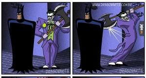 A już myślał, że zaskoczy Batmana