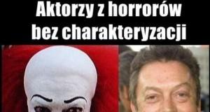 Aktorzy z horrorów bez charakteryzacji