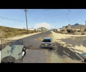 Policyjny Cyborg w GTA V