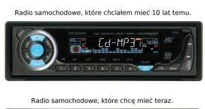 Radio w samochodzie