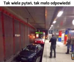 Co tramwaj robi w metrze?
