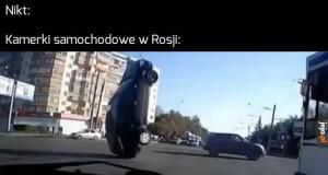Tam to się dzieje na drogach...