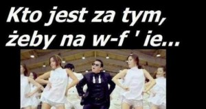 Gangnam style na w-fie