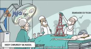 Tymczasem w szpitalu...