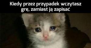W sumie dawno nie płakałem