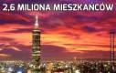 2,6 miliona mieszkańców