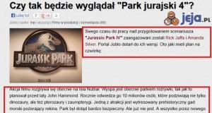 """Czy tak będzie wyglądał """"Park jurajski 4""""?"""