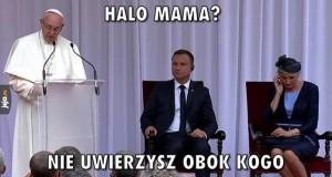 Halo, mama?