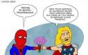 Spiderman kontra Thor - stare zasady