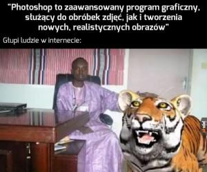 Photoshop płakał, jak wykonywał polecenia