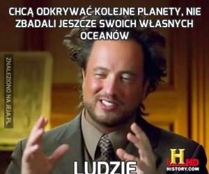 Chcą odkrywać kolejne planety, nie zbadali jeszcze swoich własnych oceanów