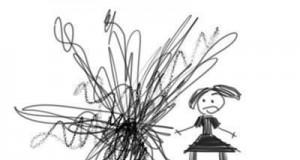 Rysunek dziewczynki