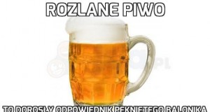 Rozlane piwo