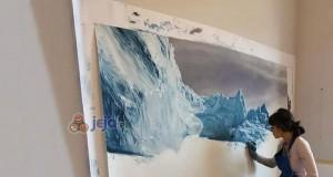 Epickie malowidła lodowców