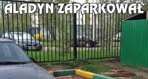 Aladyn zaparkował