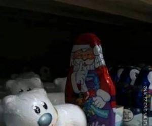 Mikołaj też musi się zabawić