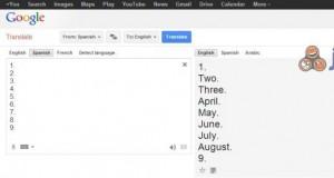Google Translate w akcji