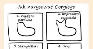 Jak narysować Corgiego