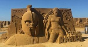 Piaskowe rzeźby, które robią wrażenie