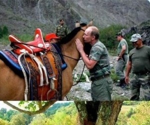 Trauma po pocałunku Putina