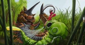 Kolekcja dziwnych, realistycznych Pokemonów