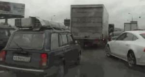 Uparty kierowca