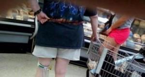 Z cewnikiem w markecie