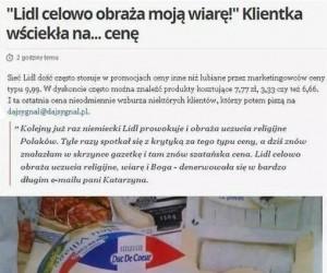 Szatany w Lidlu