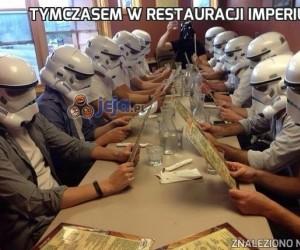 Tymczasem w restauracji imperium