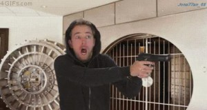 Ups, nie ten pistolet