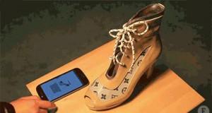 Buty personalizowane za pomocą smartfona