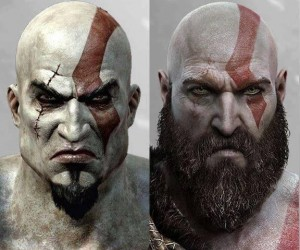 Kratos kiedyś i dziś