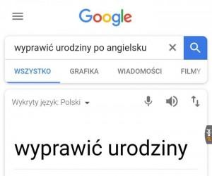 Wielkie dzięki, Google