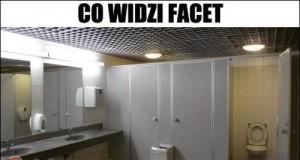 Toaleta oczami kobiet i mężczyzn
