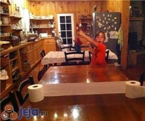 Stół do ping-ponga w wersji ekonomicznej