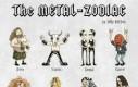 Metalowe znaki zodiaku