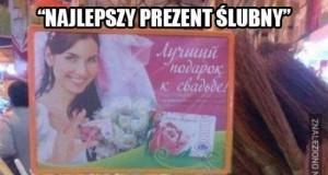 Najlepszy prezent ślubny
