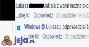 Trollujący Windows