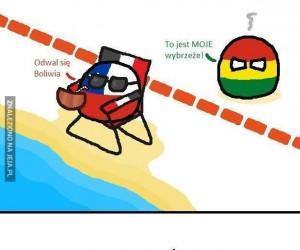 Boliwia chyba o czymś zapomniała...