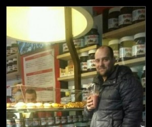 Sklep dla miłośników Nutelli w Amsterdamie