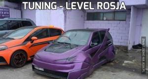 Tuning - level Rosja