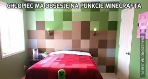 Chłopiec ma obsesję na punkcie Minecrafta