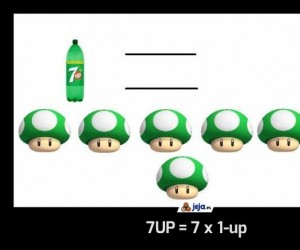 7UP = 7 x 1-up