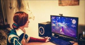 Triss gra w Wiedźmina