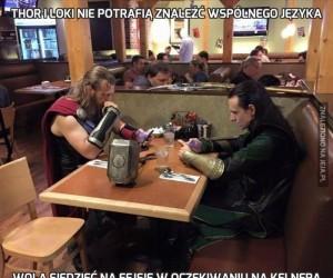 Thor i Loki nie potrafią znaleźć wspólnego języka